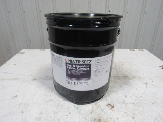 Bostik Never-Seez NHT-35B High Temperature Bearing Lubricant 35LB Pail