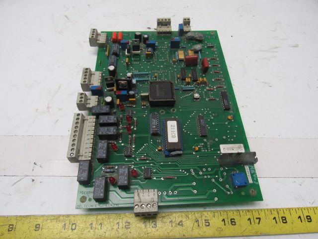 Deltech Eng 7de88he Rev 02 Circuit Control Board Desiccant