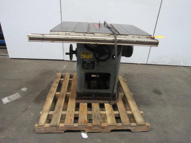 "Delta UNISAW 5HP 10"" Table Saw 230/460V 3 Ph | Bullseye ..."
