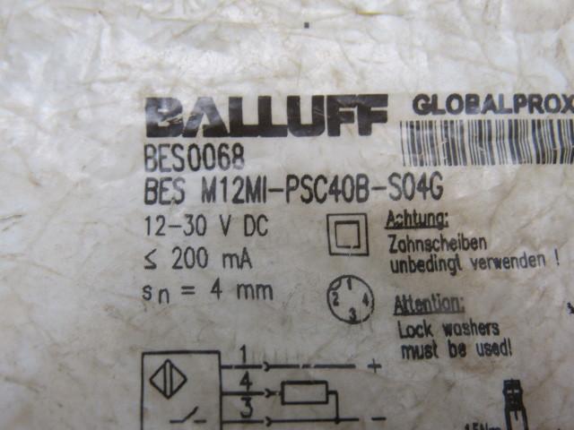 Air Compressor Replacement Parts >> BALLUFF BESM12MI-PSC40B-S04G Proximity Switch Trumpf ...