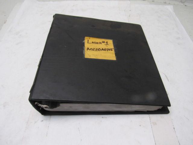 Trumpf L3030 L40360 L6030s Jic Laser Electrical Schematics