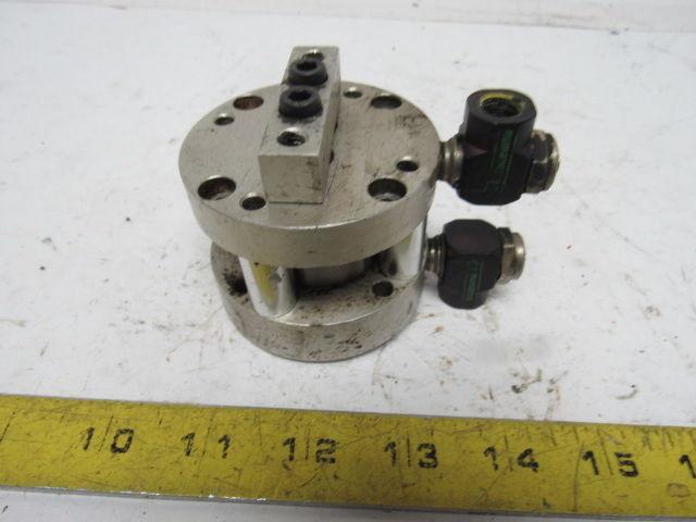 "Bimba Flat II Pneumatic Twin Rod Cylinder 1-1/4"" Bore X 3/4"" Stroke"