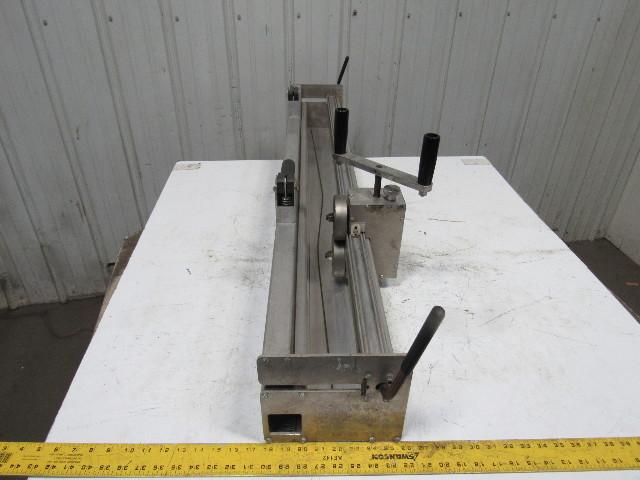 "Used Welders For Sale >> Clipper RL-48 Roller Lacer 48"" Conveyor Belt Lacing Tool ..."