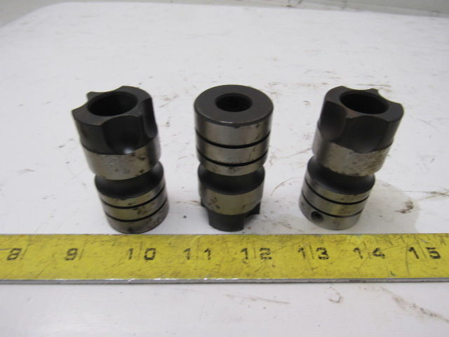 """Ingersoll Cutting Tool Company 7711-0688 Numertap 11/16"""" Tap Adapter Lot Of 3"""