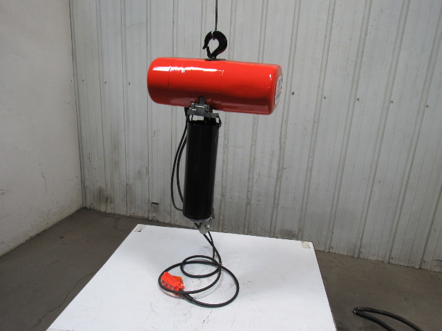 Cm Lodestar Model L 1 Ton Electric Chain Hoist 15 U0026 39  Lift 16fpm 115volt 1ph