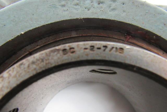 Dodge 124068 2 16 U0026quot  4 Bolt Flange Mount Bearing