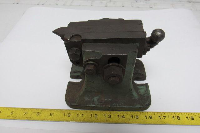 "Vintage Adjustable Centering Turret Lathe Set Up 11/16"" Keyed Base"