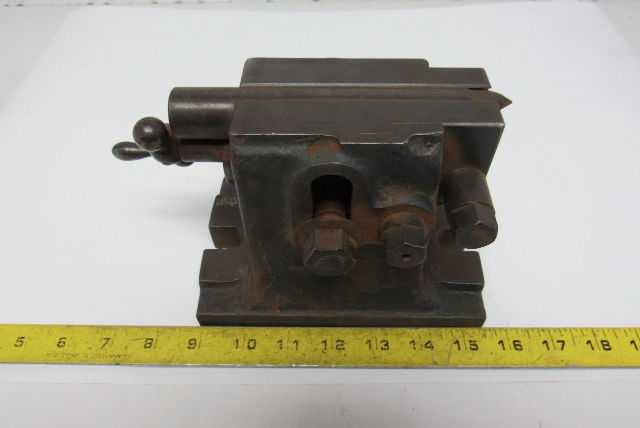 "Vintage Adjustable Centering Turret Lathe Set Up 11/16"" Keyed Base"