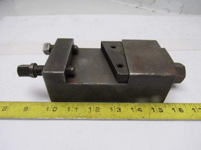 """1-1/2"""" Open Sided Turret Lathe Tool Holder 1-1/4"""" Keyed Base"""