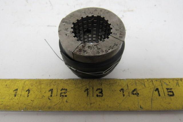 "3-1-522 1-1/8""  Machinist Serrated Collet Pad Set"