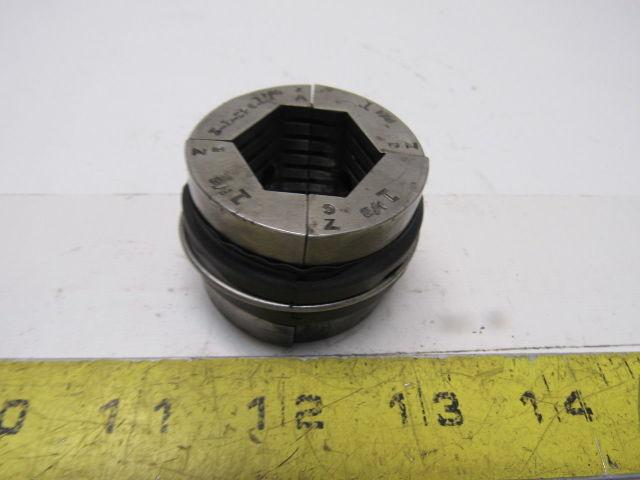"3-1-526 1-1/8"" Machinist Serrated Hexagonal Collet Pad Set"