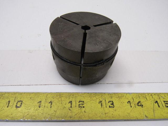 "Warner & Swasey W&S 5/16"" Hex Machinists Collet Pad Set"