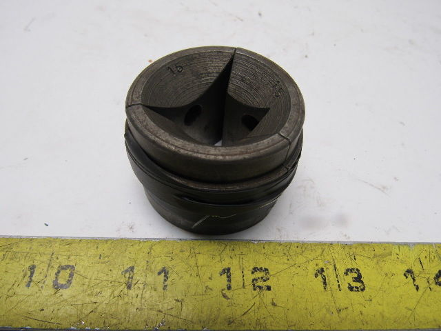 """Warner & Swasey W&S 7/8"""" Square Machinists Collet Pad Set"""