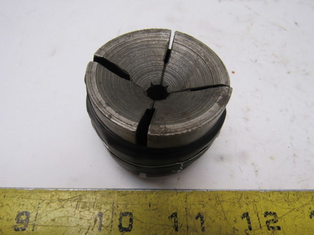 """Sutton 3-1-521 3/8"""" Round Machinists Collet Pad Set 4 Section"""