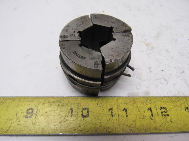 """Sutton 3-1-525 7/8"""" Hex Machinists Collet Pad Set"""