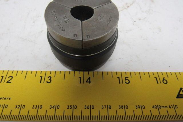 "Sutton 461-1003 11/16"" Round Machinists Collet Pad Set"