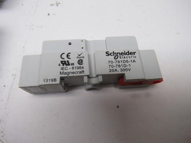 Schneider 70 781d5 1a Magnecraft 300v 20a 5 Pin Relay