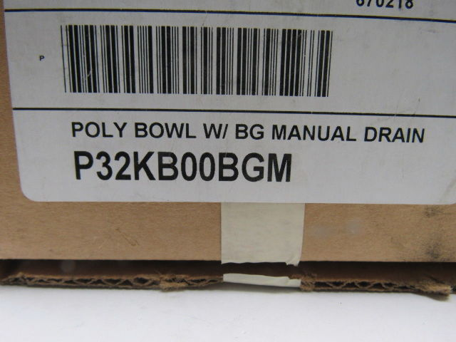 Parker P32kb00bgm Polycarbonate Replacement Bowl With