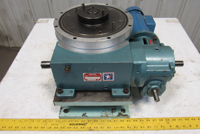 Camco 902rdm12h32 270 12 Stop Rotary Index Table 40 1 Gear