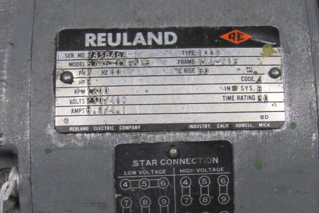 Reuland 5746 460v Ael