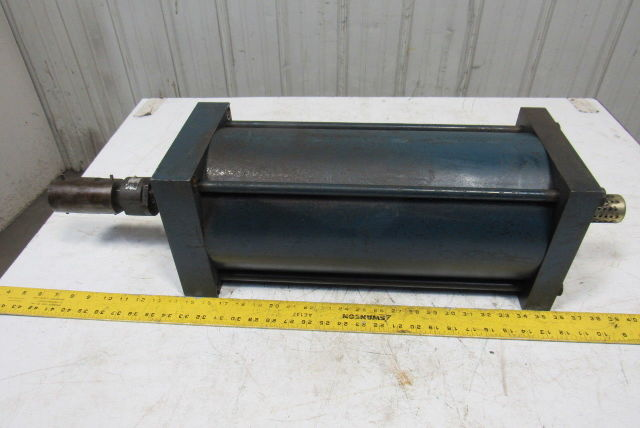 "Hydra-Line LR2G 8"" Bore 16"" Stroke Double Acting Pneumatic Cylinder"