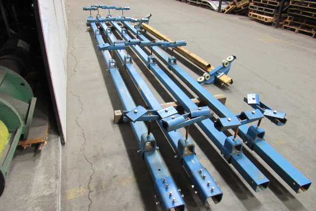 Used Welders For Sale >> Gorbel 1/2 Ton Ceiling Mounted Bridge Crane 12' Span x 40 ...
