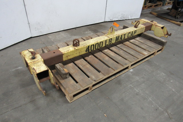 Used Welders For Sale >> 2 Ton 4000lb Capacity Twin Basket Sling Lifting Beam 96 ...
