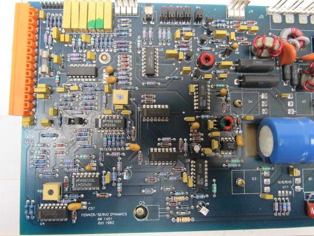 FENNER SERVO DYNAMICS CIRCUIT BOARD/_SD1525-10/_SD152510/_15 AMP MODULE