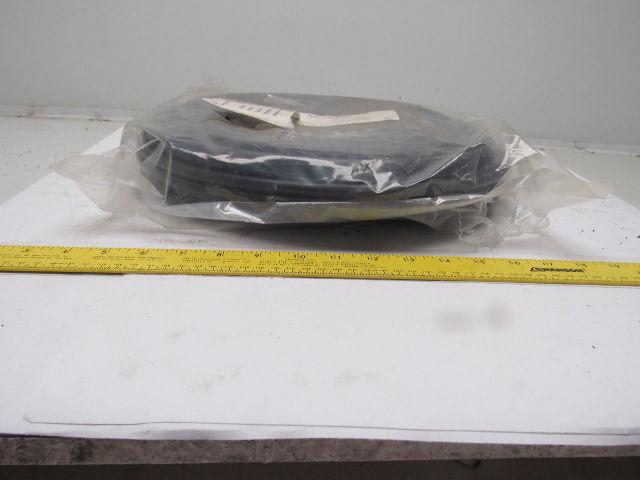 FreelinWade 1J-073-01 10mm OD x 8mm ID Polyethylene Black Tube 100'
