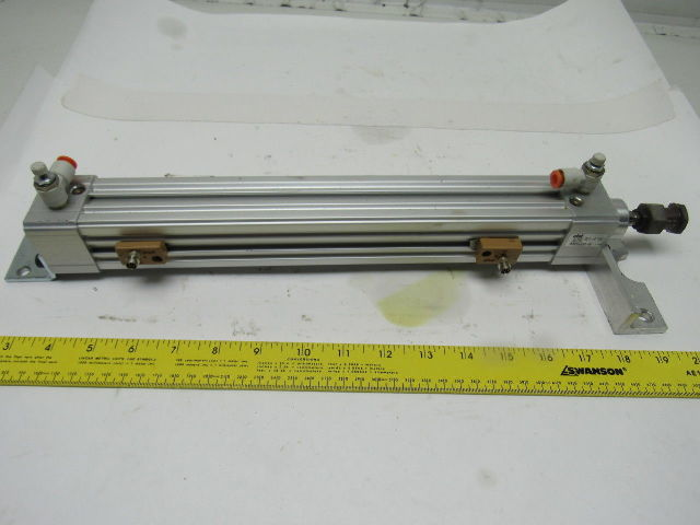 "PHD CVAS2V 32x10-7/8-DB15M Pneumatic Air Cylinder 32mm Bore 10-7/8"" Stroke"