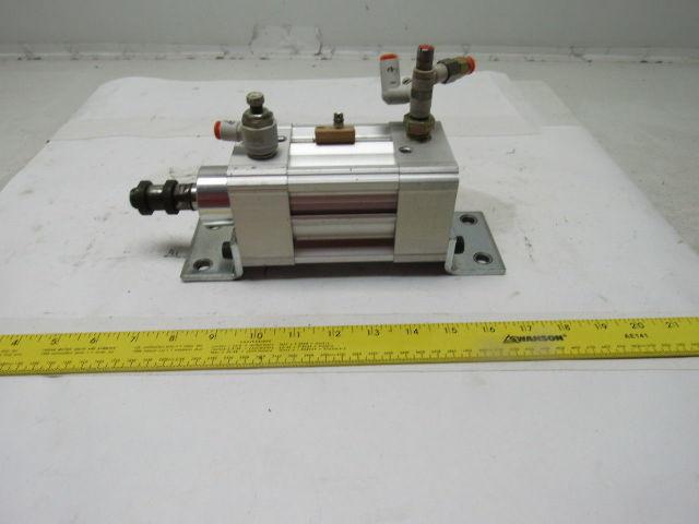 """PHD CVAS2V 32x1-DB-M Pneumatic Air Cylinder 63mm Bore 1"""" Stroke"""