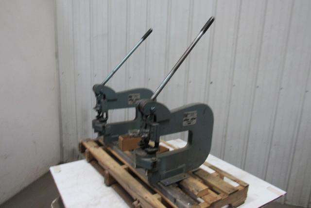 Roper Whitey Pexto Model 218 4 Ton Hand Press Sheet Metal