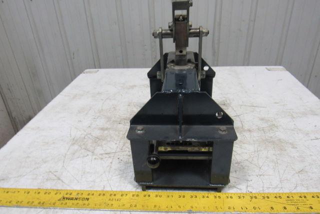 Nitta Fp 220r Flat Conveyor Belt Finger Splice Punch Press