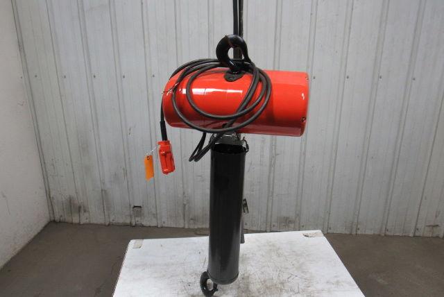 Cm Lodestar Model Rr 2 Ton Electric Chain Hoist 15 U0026 39  4