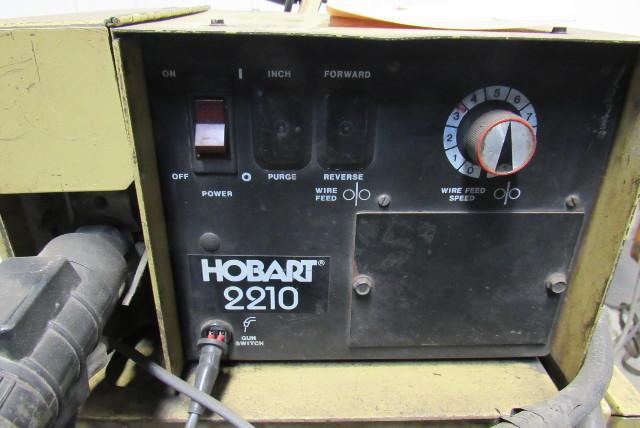 Hobart Fabstar 4030 Mig Welder Package W  2210 Wire Feeder  U0026 Cords 230  460v 3ph
