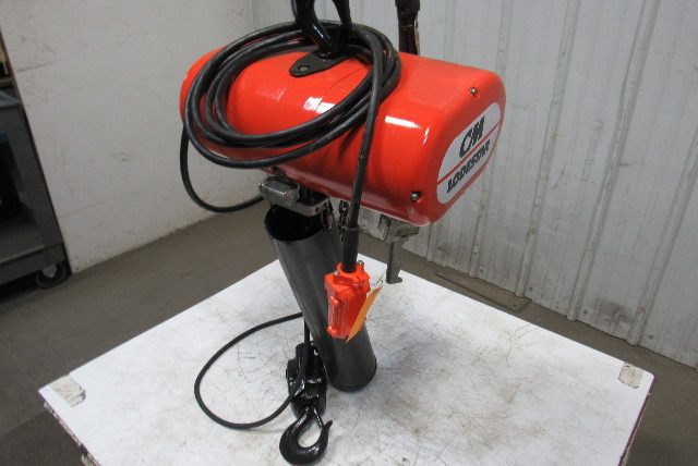 Cm Lodestar Rr 2 Ton 2hp Electric Chain Hoist 208 460v