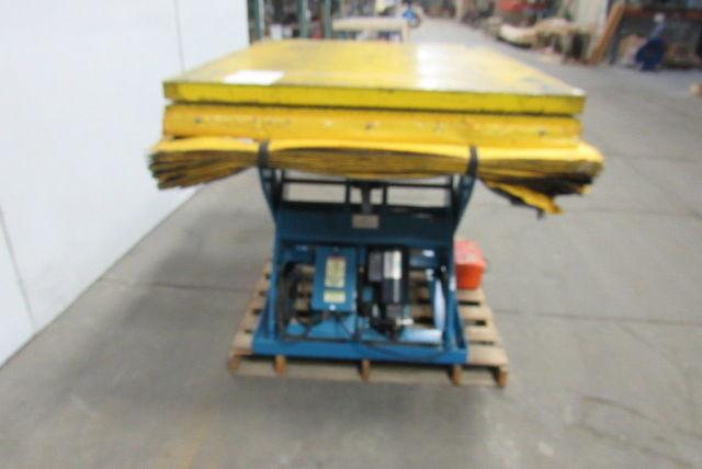 """Lift Products 2000 LB 60""""x48"""" Scissor Lift Turn Table 9-1"""