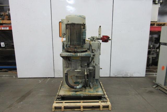 Rexroth 20Hp Hydraulic Power Unit 4000PSI  Pump AA110VS71DR/31R  48GPM@2550rpm