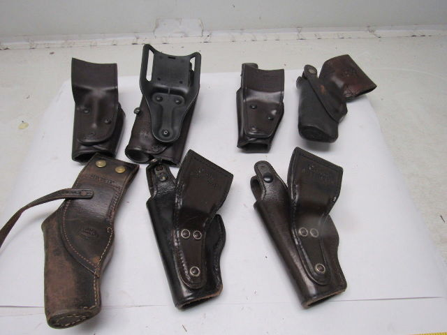 Details about Glock Model 17, 22 Basket Weave Style Police Holsters Lot of 7