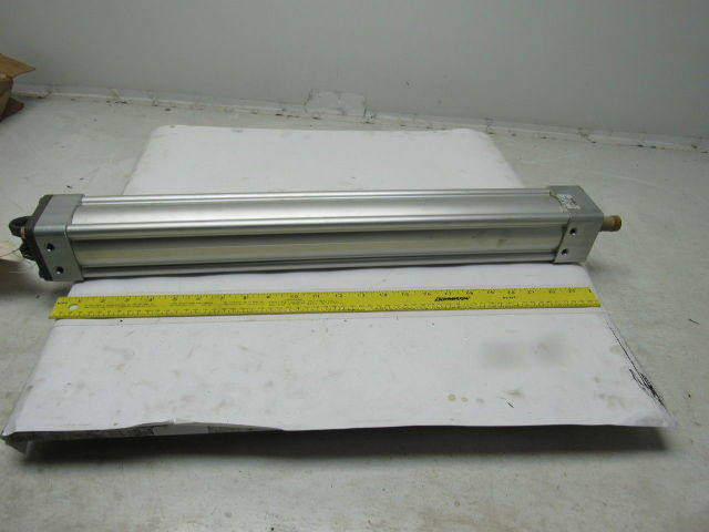 """Rexroth TM68277-3210 2-1/2"""" Bore 21"""" Stroke Clevis Mount Air Cylinder 200PSI"""