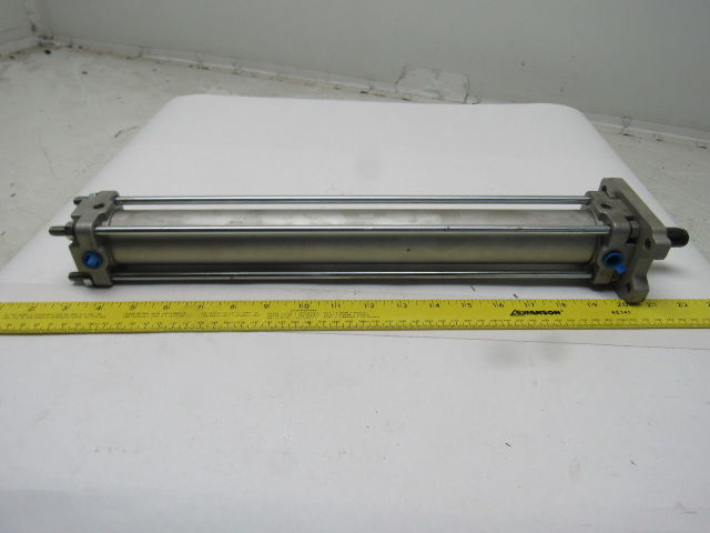 "SMC CDA2F40-350-XC3BC 40mm Bore 14"" Stroke 5/8"" Rod Double Acting Air Cylinder"