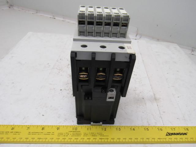 General Electric CL09E300M 3 Pole Contactor 24-28V AC/DC Coil