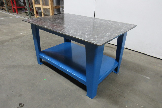 H D 1 2 Quot Thick Top Steel Fabrication Layout Welding Table