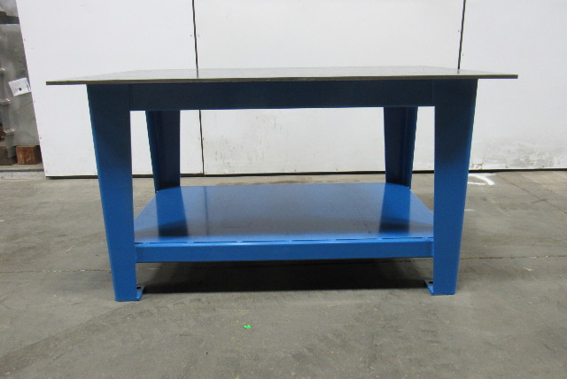 """H.D. 1/2"""" Thick Top Steel Fabrication Layout Welding Table Work Bench 60"""" x 40"""""""