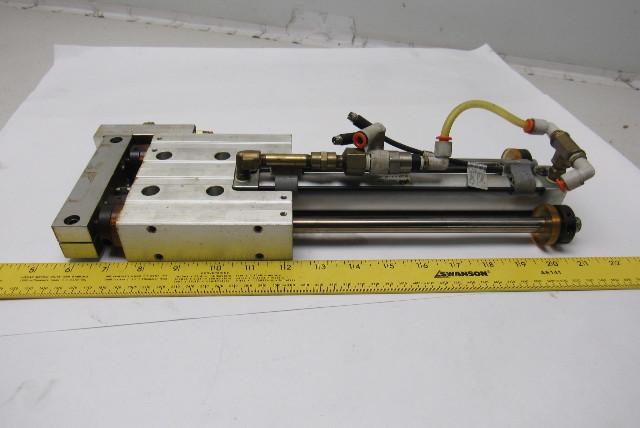 "PHD SEC23x8-GI-J2-M-P-B-H4 Pneumatic Linear Slide 8"" Stroke 23mm Bore"
