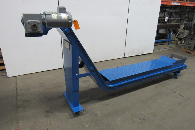Turbo Systems Magnetic Incline Chip Conveyor 13 Quot Belt 45