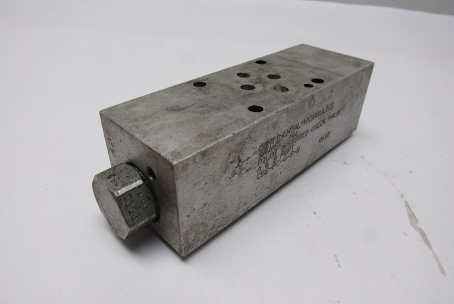 Details about  /NEW CONTINENTAL HYDRAULICS C12S-PC-G-S-B CHECK VALVE