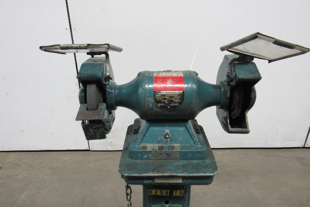 Rockwell 23 635 1 3hp 1 Phase Pedestal 6 Quot Shop Bench Grinder Tool Sharpener 115v Ebay