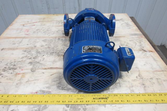 Replacement Air Compressor Pump >> Ingersoll Dresser D834 5Hp Circulation Pump Assembly 208/230/460V 3Ph   Bullseye Industrial Sales