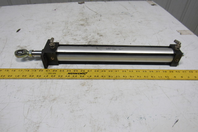 "Norgren Type EJ0377B3 Pneumatic Air Cylinder 2"" Bore 16"" Stroke"
